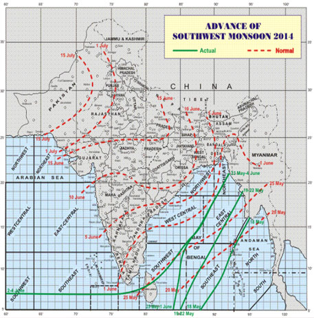 Southwest monsoon to hit Kerala in 48 hours: Met department