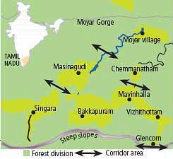 Villagers dispute elephant corridor