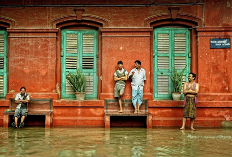 Kolkata, vulnerable to floods (Photo by Sayan Sarkar)