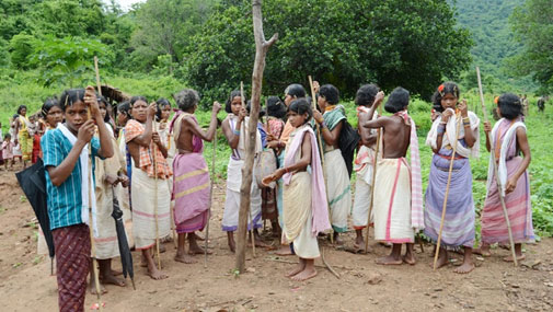 Women from Dongria Kondh village in Odisha (Photo: Sayantan Bera)