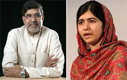 Nobel Peace Prize to child rights champions from India and Pakistan