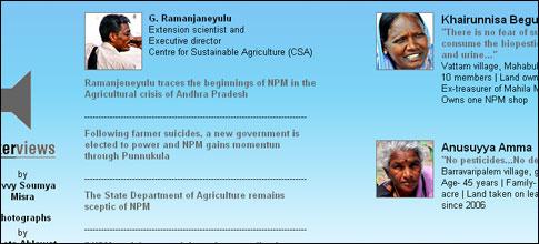 Non-Pesticidal Management in Andhra Pradesh