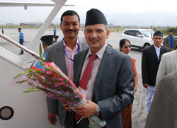 Bhattarai's power trip