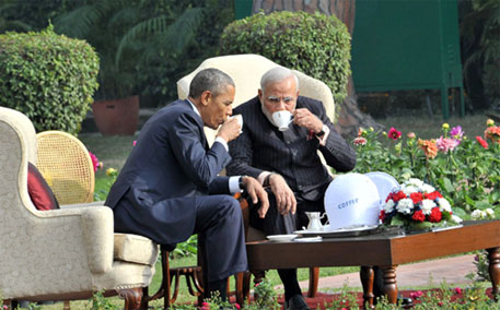 The fine print of the agreement reached between Barack Obama and Narendra Modi on Sunday at Hyderabad House are yet to be disclosed (Photo courtesy PIB)
