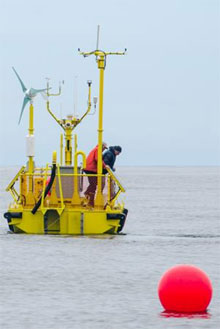 Wave energy could prove to be more steady, cheaper renewable energy source