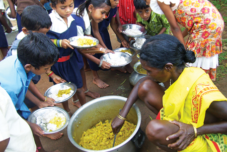 Midday meal may be outsourced