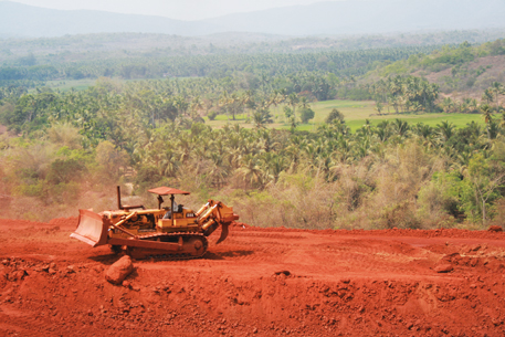 Goa has incurred a loss of `35,000 crore because of illegal mining