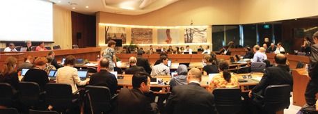 There was back-and-forth volley of questions between parties at the meeting, which concluded on October 25