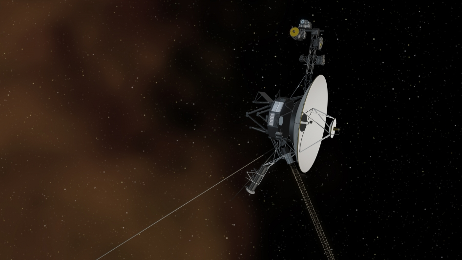 Voyager 1 reaches interstellar space