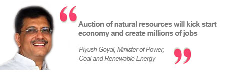 Piyush Goyal, Minister of Power, Coal and Renewable Energy