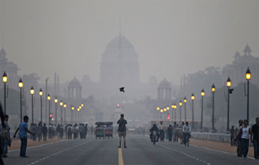 Will Delhi air poison Obama on Republic Day?