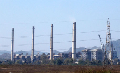 The Patratu Thermal Power Station in Ramgarh district of Jharkhand