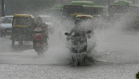 At present, monsoon remains stuck at several places across India (Credit: Vikas Choudhary)