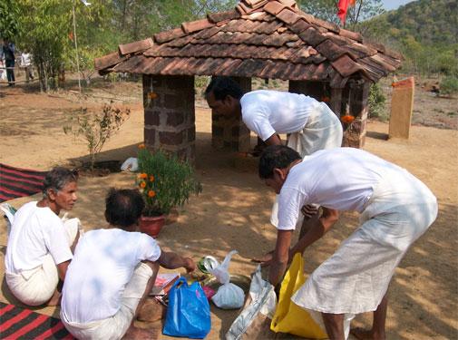 Revitalising sacred groves