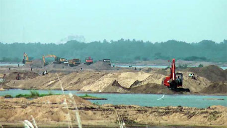 Legalise sand mining in Mysore, MP tells government