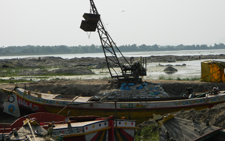 Andhra Pradesh High Court firm on not lifting stay on sand mining