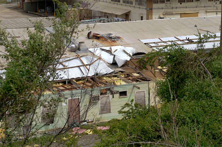 Damage caused by Hurricane Sandy in the US (Credit: DVIDSHUB)