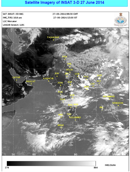 Rain stays away from much of India, revival expected in July