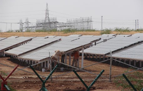 The Centre had announced the Jawaharlal Nehru National Solar Mission in 2010 (Credit: Jonas Hamberg)