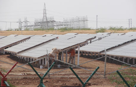 Solar Energy Corporation of India has already received bids for 122 projects, including 36 projects under 'domestic content requirement' or DCR category for 700 MW, in second phase of Jawaharlal Nehru National Solar Mission(Photograph by Jonas Hamberg)