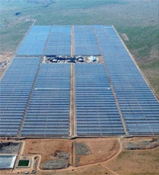 100 MW solar plant begins providing power to South African grid
