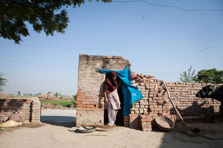 Basara village in Haryana's Panipat district achieved 100 per cent sanitation coverage many years ago. Residents attribute reduction in sexual assaults on women in recent years to availability of toilets within homes (photo by Jitendra)