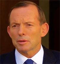 Tony Abbott, prime minister, Australia