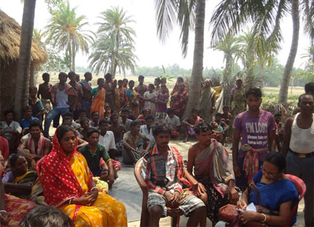 Tribals beaten up by TMC workers in Sundarbans