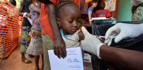 First malaria vaccine raises hope for millions living in high burden countries