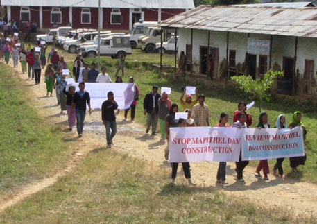 villagers_rallied_against_mapithel_dam_at_chadong_village_manipur