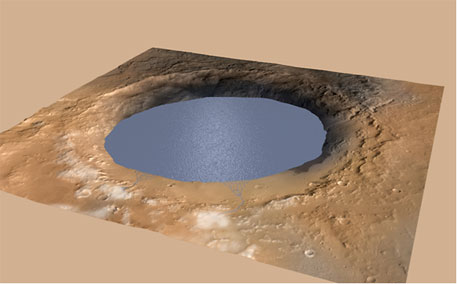 Surface water did exist on Mars at one time, NASA's Curiosity rover finds