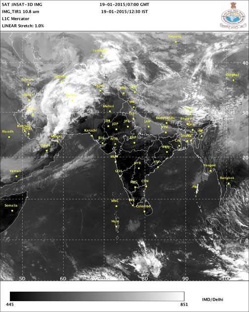 Severe western disturbance to hit North India