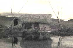 A house on the Loktak lake