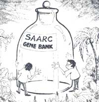 SAARC gene bank yet to open an account