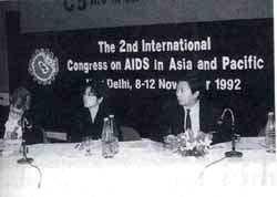 Behavioural changes is the way to curb AIDS