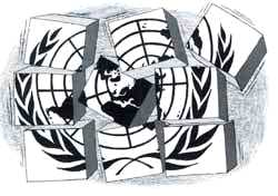 UN falls victim to its inherent weaknesses