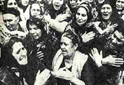 Azeri women mourn victims of A