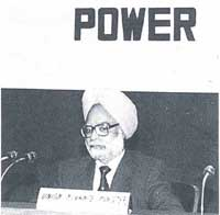 Paying for power: Manmohan Sin (Credit: D Mohan / PIB)