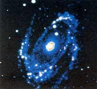 Infrared image of the M81 spir (Credit: NASA)