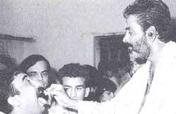 Harinath Goud administers a li