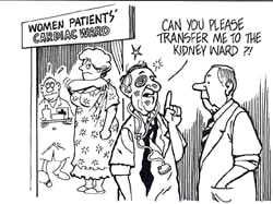 Gender bias removed in clinical research