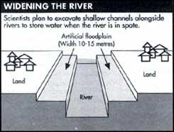 Model flood control
