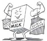 Milk spill-offs