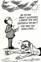 Forecasting famine