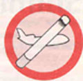 Smoking censured in American flights