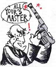 His master's