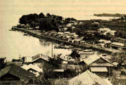 Minamata Bay: the site of the<