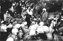 A meeting  of Gujjars who have (Credit: Joseph Antony / RLEK)