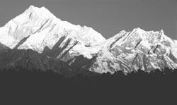 String of peaks