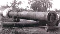 Spill monster. An oil pipeline (Credit: Abiodun Raufu)